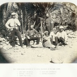Non Commissioned Members of the Royal Engineers on the Sinai Survey  1868