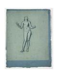 Study of a Nude Figure (Juggler)