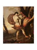 Apollo Flaying Marsyas  C1627
