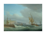 Shipping Off Dover  C1760