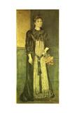 Portrait of Mathilde Blind  1889