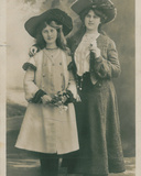 Celebrities of the Stage: Miss Phyllis and Miss Zena Dare  C1903-08