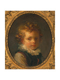 Head of a Boy (Alexandre-Evariste 'Fanfan' Fragonard)  C1785