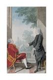 Monsieur De Montule and Monsieur Le President D'Albertas