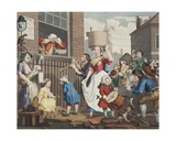 The Enraged Musician  Illustration from 'Hogarth Restored: the Whole Works of the Celebrated…