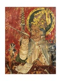 St Augustine  Bishop of Hippo  Detail of the Pulpit  Church of St Margaret  Burnham Norton …