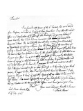 Letter Written by David Hume to Richard Davenport Referring to the Great Difficulties of His…