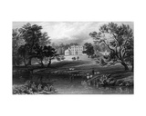 Mistley Hall  Essex  Engraved by John Carr Armytage  1832