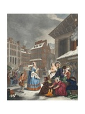Times of the Day: Morning  Illustration from 'Hogarth Restored: the Whole Works of the Celebrated…
