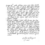 Letter to His Father  Leonardo Di Buonarrota Simoni  at Florence  Contradicting a Rumour of His…