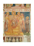 Virgin and Child  Angels and St Francis of Assisi