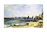 The Sea Shore  Arcachon  1871