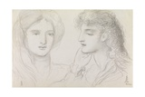 Studies of a Girl  1867
