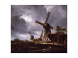 Landscape with Windmills  1830