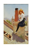 Girl on a Chimney Stack