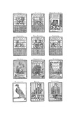 Montage of Engravings Illustrating the Animals from the Tower of London Menagerie  from…