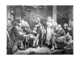 Nuptial Blessing  Engraved by Samuel De Wilde  1777