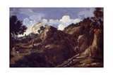Mountainous Landscape with Approaching Storm  C1638-39