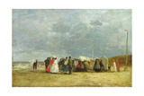 At the Seaside  1867