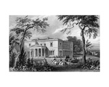 Stisted Hall  Near Braintree  Essex  Engraved by John Carr Armytage  1832