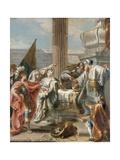 Haman  Esther and Ahasuerus  C1750