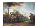 The Halt of the Cavalry