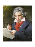 Ludwig Van Beethoven (1770-1827) Composing His 'Missa Solemnis'