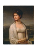 Portrait Presumed to Be Josephine Bonaparte  1799