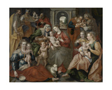 The Family of St Anne  1585