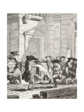 Small Children Leaving School  1875