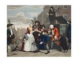 Arrested for Debt  Plate V from 'A Rake's Progress  Illustration from 'Hogarth Restored: the…