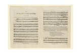 First Edition of the Sheet Music for 'The Star Spangled Banner a Pariotic (Sic) Song' …