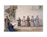 A String of Blind Beggars  Cabul  1843