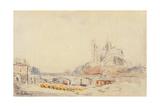 View of the Pont De La Tournelle and Notre-Dame De Paris