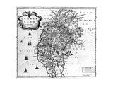 Map of Cumberland  C1695