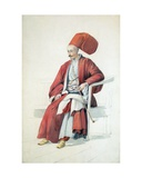 A Court Official or Servant of the Sultan  C1810