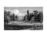 Writtle Lodge  Essex  Engraved by William Tombleson  1832