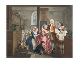 Married to an Old Maid  Plate V from 'A Rake's Progress'  Illustration from 'Hogarth Restored:…