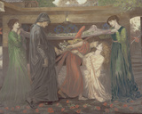 Dante's Dream: the Death of Beatrice  C1890