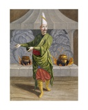 Beulouk-Bachi  Head Chef of the Sultan  C1708