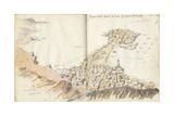 Mokullah from the West End of Jebel Al Karah  from 'Mokulla Hadramaut'  1893