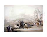 A Bullfight in Seville  1833