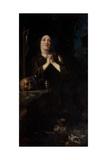 Portrait of Maria Maddalena of Austria as Saint Mary Magdalene  C1620