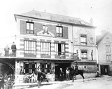 The Hotel Fournaise in Chatou  C1880