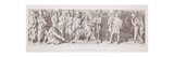 The Coronation of Harold as King of England  from 'The Story of the Norman Conquest'  Engraved by…