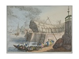 View of Brunswick Dock  1806