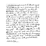 Letter from Gainsborough to Lord Hardwicke Setting Out His Opinions on the Painting of Nature and…