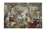 Strolling Actresses Dressing in a Barn  Illustration from 'Hogarth Restored: the Whole Works of…