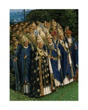 Detail of the Adoration of the Mystic Lamb  from the Ghent Altarpiece  Lower Half of Central…
