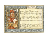 To All You Ladies Now on Land  We Men at Sea Indite'  Song Illustration from 'Pan-Pipes'  a Book…